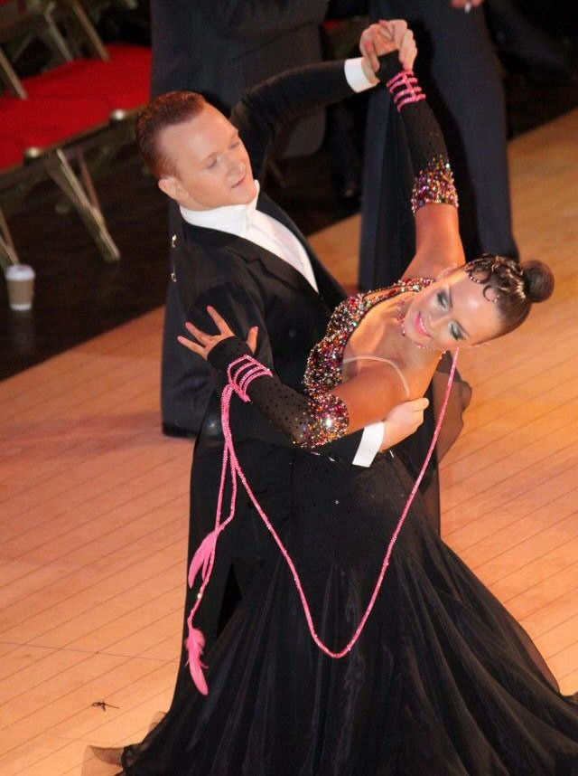 fc50aeec12 Ballroom dresses and gowns for sale. Advertising board.