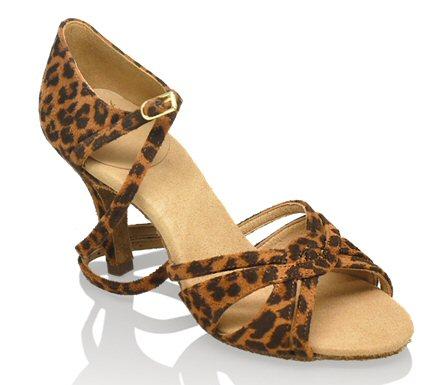 a451c910f6c 884-X Aura Xtra ULTRA FLEX - Leopard print £79.00 excl.VAT Combination  Partially enclosed 2 Strap Sandal. Round toe insole. Medium arch.