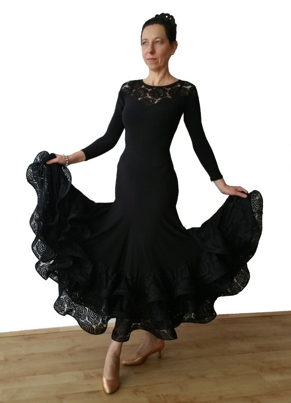 0bd1d2510 Perfecto Ballroom dress with lace ...